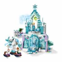 LEGO 43172 Disney Frozen Elsa's Magical Ice Palace Building Kit w/ 4 Minifigures - 1 Unit