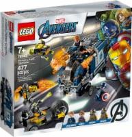 76143 LEGO® Marvel Avengers Avengers Truck Take-down - 477 pc