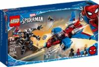LEGO® Marvel Spider-Man Spiderjet vs. Venom Mech Building Set - 371 pc