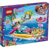 Lego 41433 Friends Party Boat Building Kit New With Sealed Box - 1