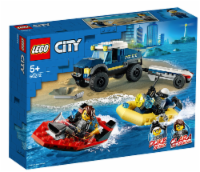 Lego 60272 City Police Boat Transport Building Kit New With Sealed Box - 1