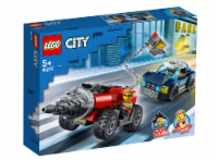 Lego 60273 City Police Driller Chase Building Kit New With Sealed Box - 1