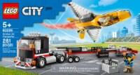 60289 LEGO® City Airshow Jet Transporter - 281 pc