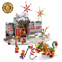 LEGO 80106 Story of Nian 1067 Piece Block Building Set for Kids Aged 8 and Up