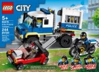 60276 LEGO® City Police Prisoner Transport - 244 pc