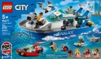 60277 LEGO® City Police Patrol Boat - 276 pc