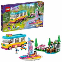 LEGO® Friends Forest Camper, Van, and Sailboat - 487 pc