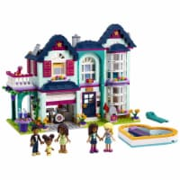 LEGO Friends Andrea's Family House 802 Piece Block Building Set for Kids 6+ - 1 Unit