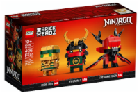 Lego 40490 Brickheadz Ninjago Legacy 10 Building Toy New With Sealed Box - 1