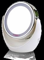 Elegant Home Fashions Bathroom LED Magnifying Mirror Swivel Makeup White TB-0678