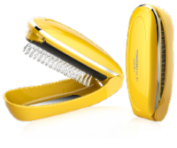 Eleagnt Home Fashions Bathroom Electric Vibration Comb Brush Massager TB-1178 - 1
