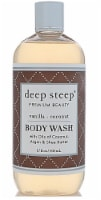 Deep Steep  Coconut Oil Body Wash Vanilla Coconut