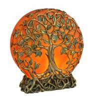 Orange Druid Tree of Life Plug-In Night Light Statue - One Size