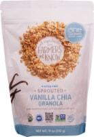 One Degree Organic Foods  Organic Sprouted Oat Granola   Vanilla Chia