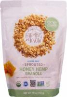 One Degree Organic Foods  Organic Sprouted Oat Granola   Honey Hemp
