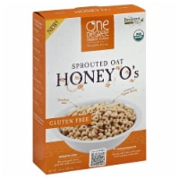 One Degree Organic Foods Gluten-Free Organic Sprouted Oat Honey O's - 10 oz