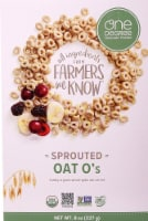 One Degree Organic Foods  Sprouted Oat O's