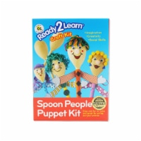 Center Enterprises CE-6901BN Ready to Learn Craft Kit Spoon - People