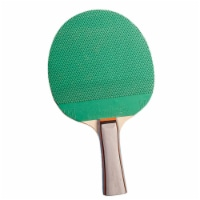 Champion Sports CHSPN1BN Rubber Wood Table Tennis Paddle, Pack of 6 - 6