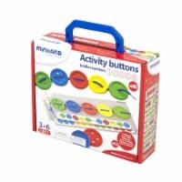 Miniland Educational MLE31791BN Activity Buttons - 2 Each