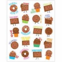 Eureka EU-650944BN Chocolate Scented Stickers - Pack of 12 - 12