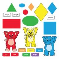 Trend Enterprises T-8010BN 1.14 lbs Colors & Shapes Bulletin Board Set - Set of 2