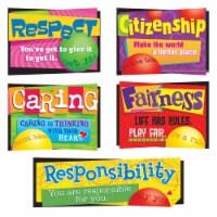 Trend Enterprises T-8146BN 1.16 lbs Character Education Bulletin Board Set - Set of 2