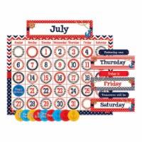 Teacher Created Resources TCR5492BN Nautical Calendar Bulletin Board Set - Set of 2