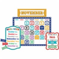 Teacher Created Resources TCR5636BN Marquee Calendar Bulletin Board - Set of 2 - 1