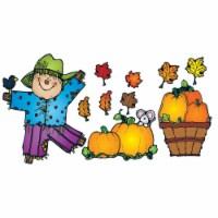 Carson Dellosa DJ-610048BN Pumpkin Patch Bulletin Board Set - Set of 2