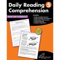 Creative Teaching Press CTP8185BN 2 Each Daily Reading Comprehension Workbook, Grade 5