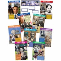 Teacher Created Resources TCR4752BN Famous African Americans Bulletin Board Display Set - Set