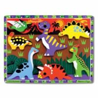Melissa & Doug LCI3747BN 3 Each Dinosaur Chunky Puzzle