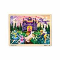 Melissa & Doug LCI3804BN 3 Each Fairy Tales Wooden Jigsaw Puzzle - 48 Piece