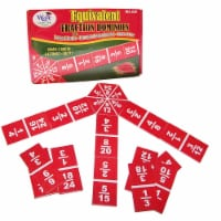 Learning Advantage CRE4519BN 3 Each Equivalent Fraction Dominoes - 1