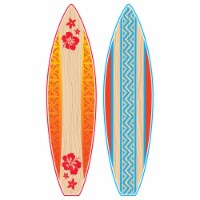 Teacher Created Resources TCR5090BN Giant Surfboards Bulletin Board Set - Set of 2 - 1