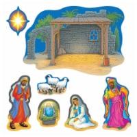 Trend Enterprises T-8125BN Nativity Bulletin Board Set - Set of 2