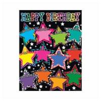 Teacher Created Resources TCR7754BN 6 Each Fancy Stars Happy Birthday Chart - 1