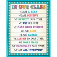 Teacher Created Resources TCR7528BN 6 Each Marquee in Our Class Chart - 1