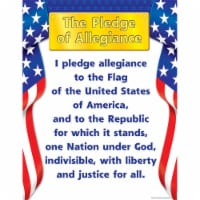 Teacher Created Resources TCR7631BN 6 Each Pledge of Allegiance Learning Chart - 17 x 22 in. - 1