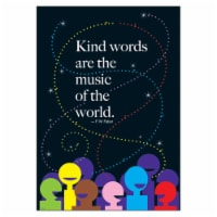 Trend Enterprises T-A67261BN 13.37 x 19 in. 6 Piece Poster - Kind Words are the Music of the - 6