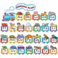 Teacher Created Resources TCR4421BN Alphabet Train Bulletin Board Set - Set of 2