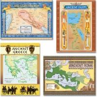 Teacher Created Resources TCR4422BN Ancient Civilization Bulletin Board Set - Set of 2