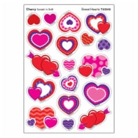 Trend Enterprises T-83040BN Sweet Hearts & Cherry Shapes Stinky Stickers, Pack of 6 - 6