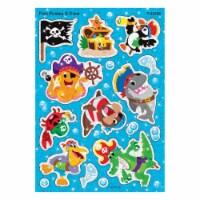 Trend Enterprises T-63356BN Fish Pirates & Crew Sparkle Stickers, Pack of 6