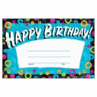 Trend Enterprises T-81090BN 5.5 x 8.5 in. Color Harmony Birthday Recognition Awards, Pack of