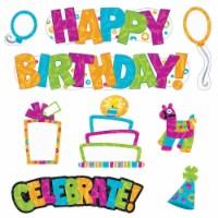 Trend Enterprises T-8781BN Color Harmony Wipe-off Birthday Mini Bulletin Board Set, Set of 3