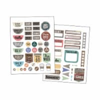 Teacher Created Resources TCR8748BN Home Sweet Classroom Planner Stickers - Pack of 6