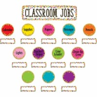 Teacher Created Resources TCR8802BN Confetti Classroom Jobs Mini Bulletin Board Set - Set of - 1