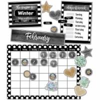 Carson Dellosa CD-110409BN Simply Stylish Calendar Bulletin Board Set - Pack of 2